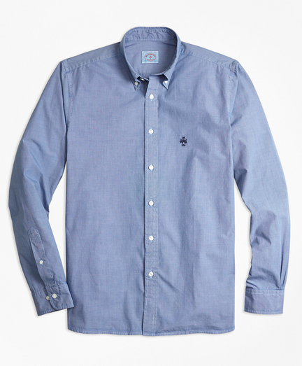Garment-Dyed End-On-End Broadcloth Sport Shirt