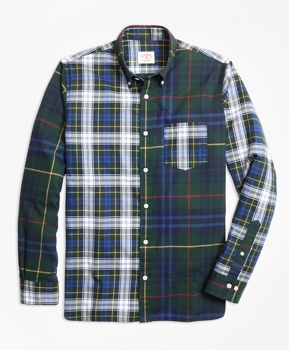 Tartan Cotton Flannel Fun Shirt Navy