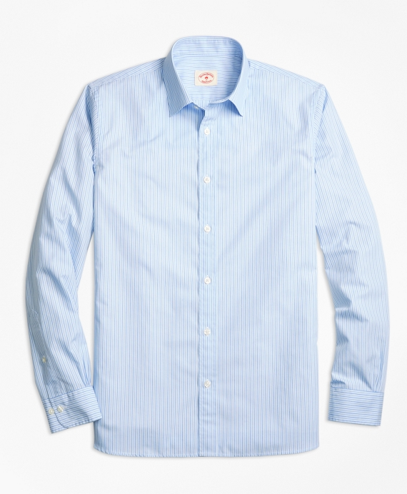 Stripe Cotton Poplin Nine-to-Nine Shirt