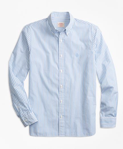 Stripe Broadcloth Sport Shirt