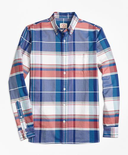 Madras Supima® Cotton Oxford Sport Shirt