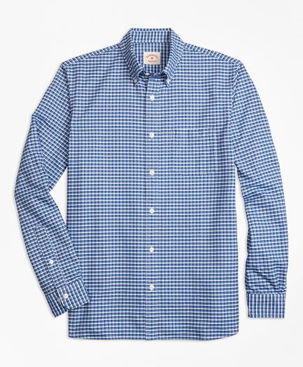 Check Supima® Cotton Oxford Sport Shirt