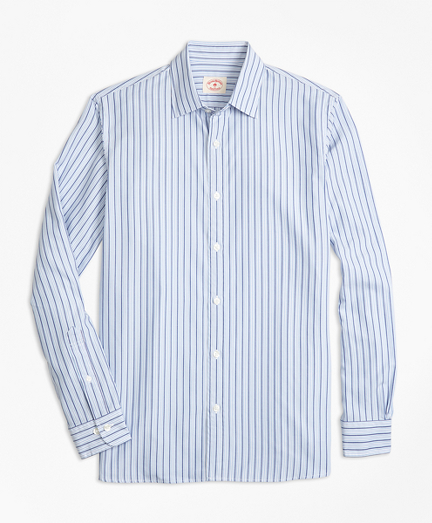 Stripe Nine-to-Nine Cotton Poplin Shirt