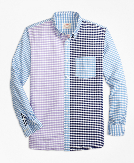 Gingham Cotton Oxford Fun Shirt