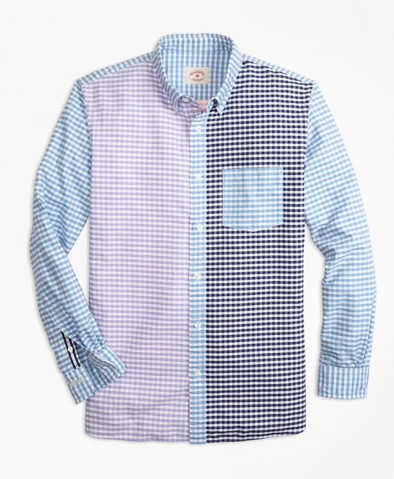 Gingham Cotton Oxford Fun Shirt Multi