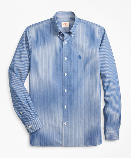Striped Broadcloth Sport Shirt