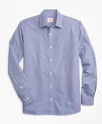 Gingham Nine-to-Nine Cotton Dobby Shirt