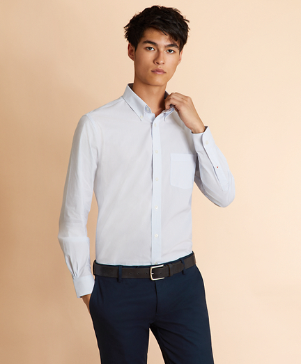Performance Series Fine Stripe Poplin Shirt