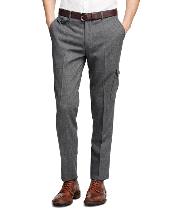 Flannel Dress Trousers Grey