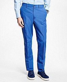 Plain-Front Dress Trousers