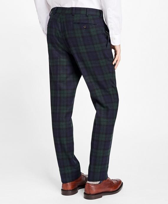 Black Watch Tartan Dress Trousers - Brooks Brothers