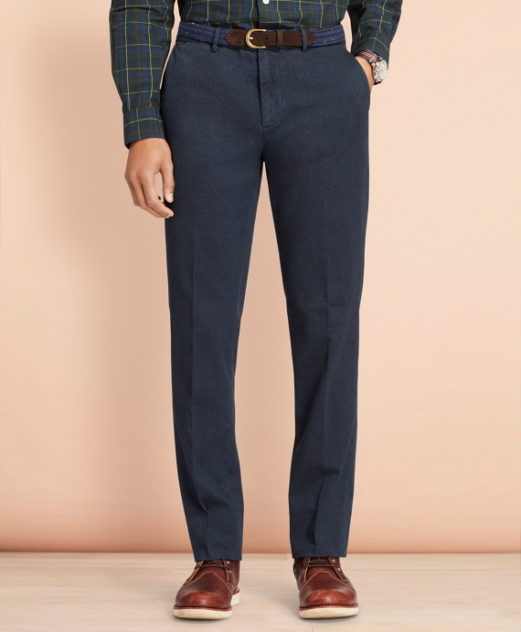 Stretch-Cotton Twill Trousers