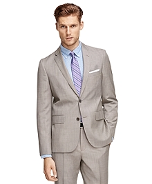Tan Tic Suit Jacket
