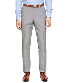 Grey Sharkskin Trousers