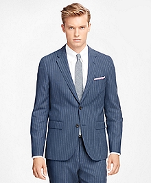 Wide Stripe Suit Jacket
