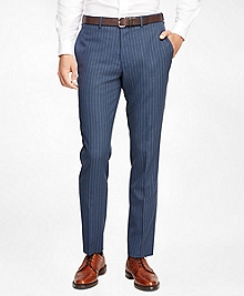 Wide Stripe Suit Trousers