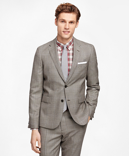 Plaid with Deco Suit Jacket
