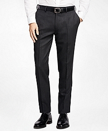 Chalk Stripe Suit Trousers
