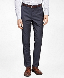 Mini Check Suit Trousers