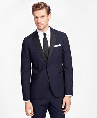 One-Button Tuxedo Jacket
