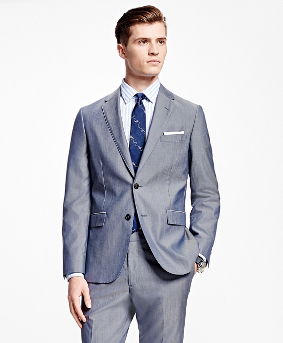 Two-Button Suit Jacket Blue