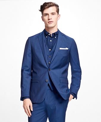 Stretch-Wool Suit Jacket
