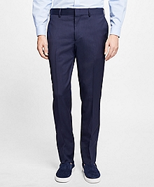 Slim-Fit Pinstripe Stretch-Wool Suit Trousers
