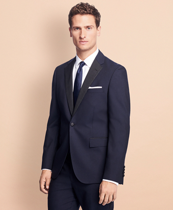 Slim-Fit Stretch-Wool Tuxedo