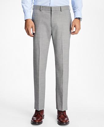 Slim-Fit Sharkskin Stretch-Wool Suit Trousers