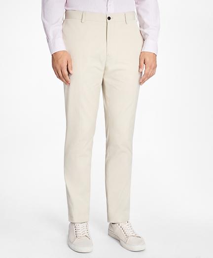 Slim-Fit Cotton Suit Trousers