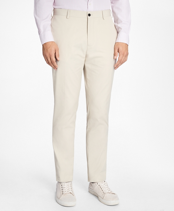 Slim-Fit Cotton Suit Trousers