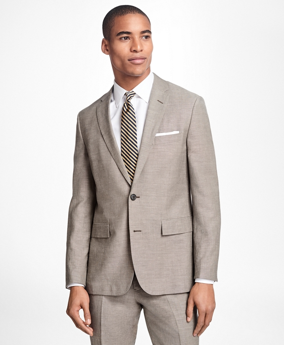 Wool-Linen Suit Jacket
