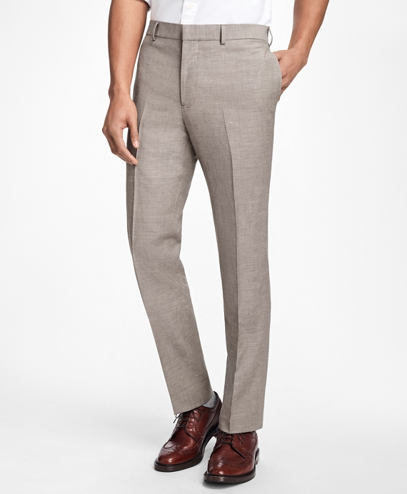 Wool-Linen Suit Trousers