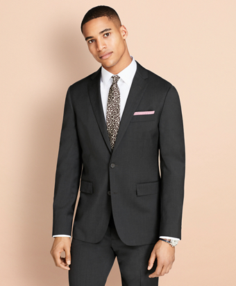Wool Twill Suit Jacket