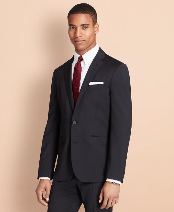 Wool Twill Suit Jacket Navy