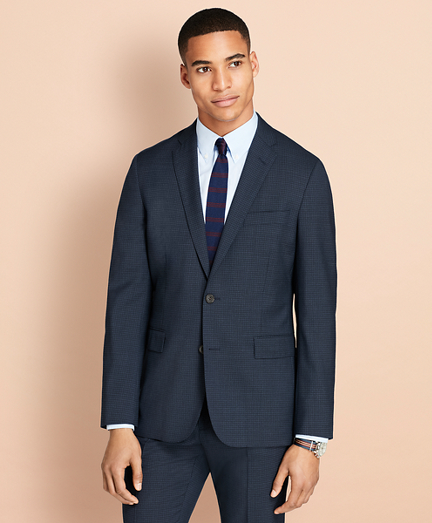 Parquet Wool Suit Jacket