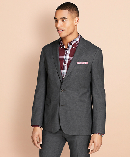 Wool Flannel Suit Jacket
