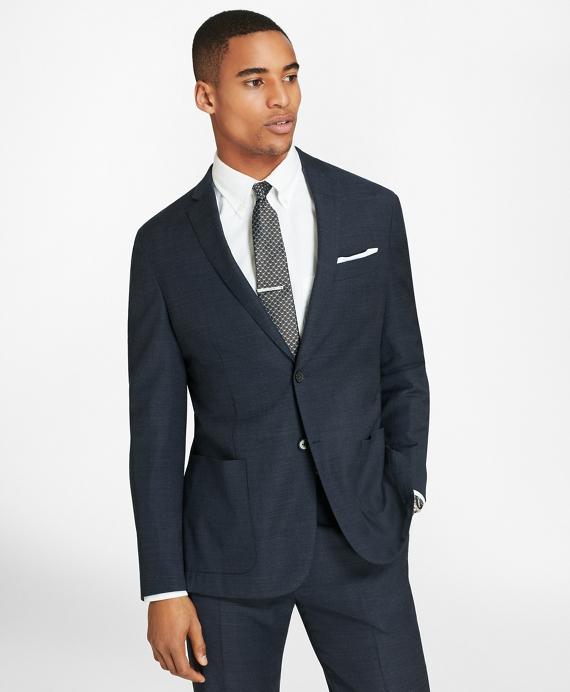 BrooksCloud™ Two-Button Wool Suit Jacket Blue
