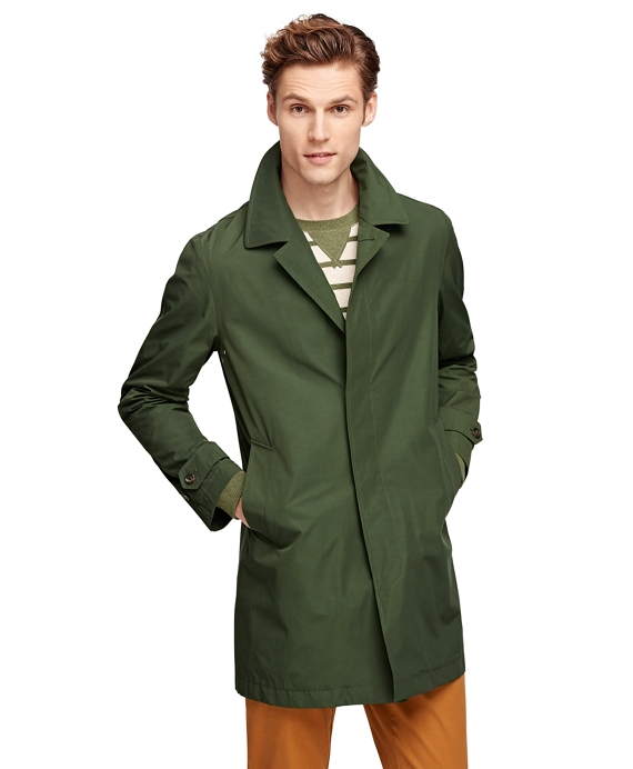 diversified in packaging shop for luxury online shop Men's Olive Green Trench Coat | Brooks Brothers