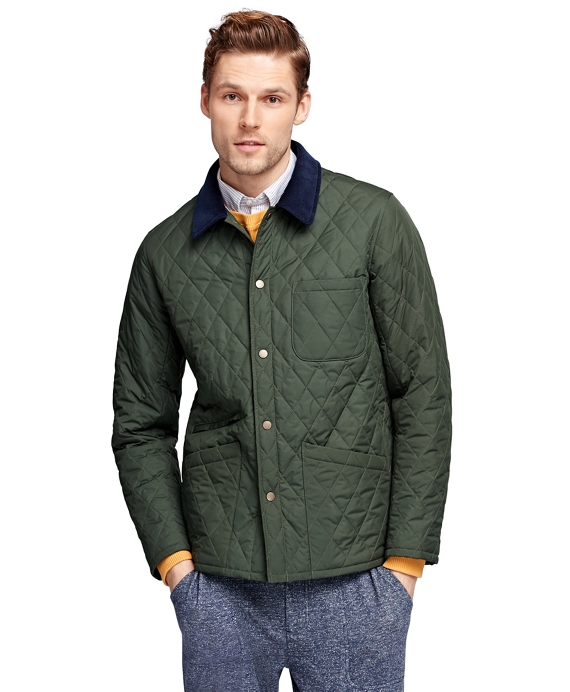 Men's Quilted Jacket | Brooks Brothers