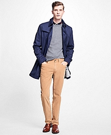 Double-Faced Sport Trench Coat