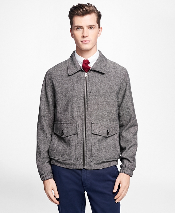 Men's Vintage Style Coats and Jackets Donegal Tweed Short Jacket $248.00 AT vintagedancer.com