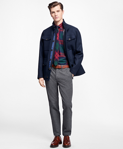 Double-Faced Four-Pocket Jacket