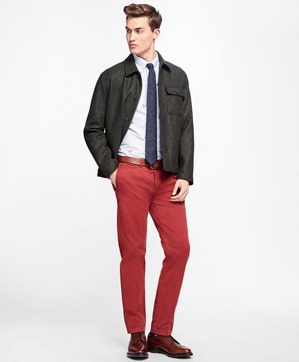Fleece-Lined Wool Jacket