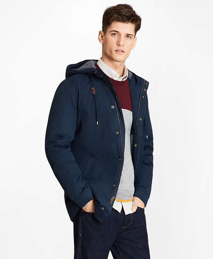 Jersey-Lined Heavy Anorak
