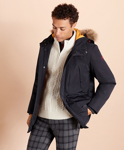 Water-Resistant Parka