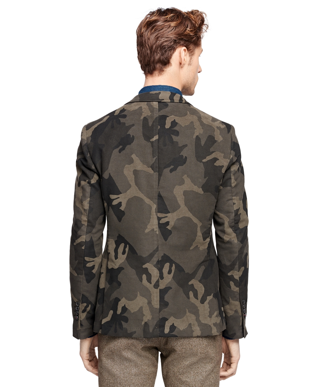 Men's Green Camo Sport Coat | Brooks Brothers