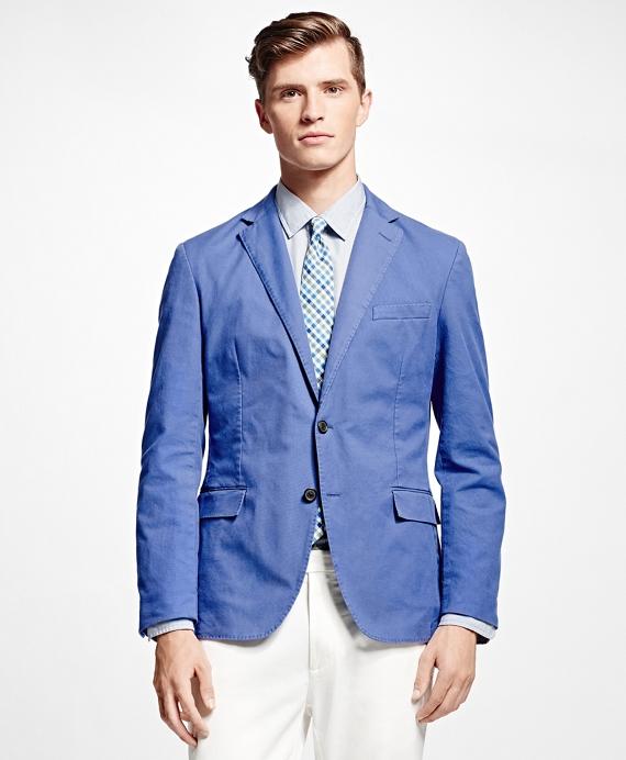 Garment Washed Sport Coat