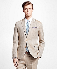 Herringbone Irish Linen Sport Coat