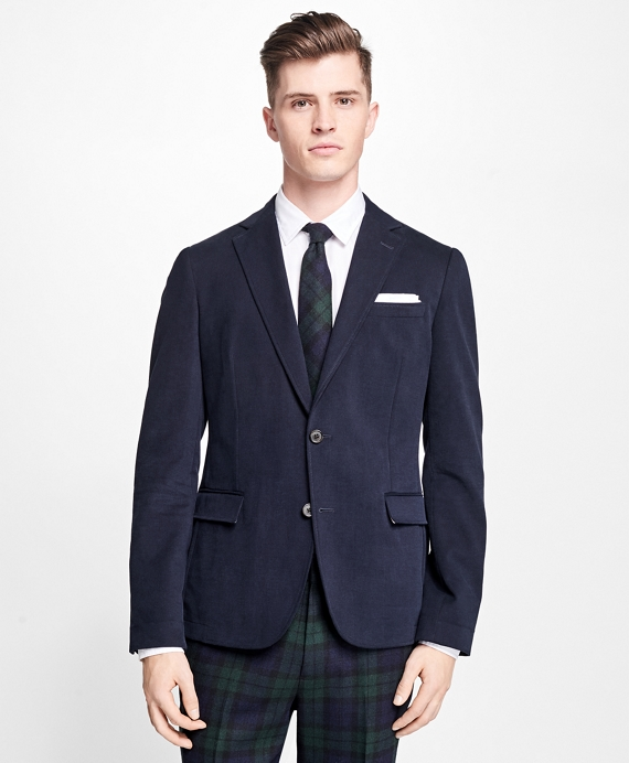 Two-Button Twill Sport Coat - Brooks Brothers